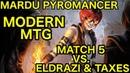 MODERN Mardu Pyromancer vs Eldrazi Taxes Match 5 Closing Comments