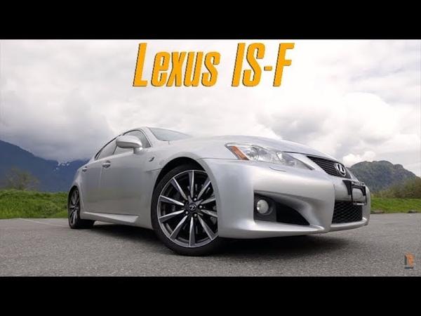 Lexus IS F на V8. Этот слипер - действительно убийца BMW M3? [BMIRussian]