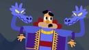 Сказки Мультики для детей Гора самоцветов Лис в сапогах