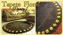 🌻Tapete Decore Floral em Croche parte 1/Por Vanessa Marcondes