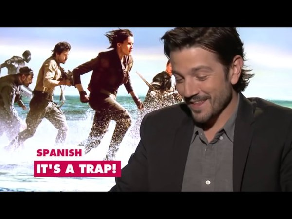 Funny diego luna rogue one moments