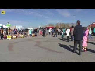 Открытие фонтана в г. #Шарыпово.