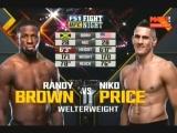 Randy Brown vs. Niko Price