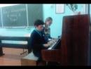 Чубов Евгений и Кирсанова Виктория учитель Елена Сергеевна Сухова