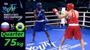 (75kg) RUSSIA vs Brasil /Quarterfinal AIBA Youth World 2018/