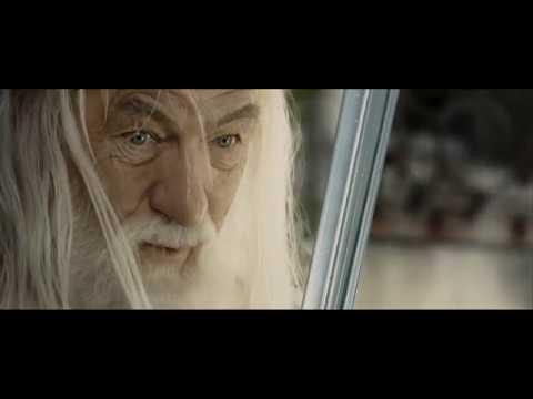 Гэндальф говорит Пипину что будет после смерти. HD