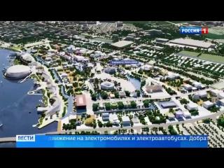 Заявка на ЭКСПО-2025- Екатеринбург предлагает совершить биоклиматический променад в городе будущего
