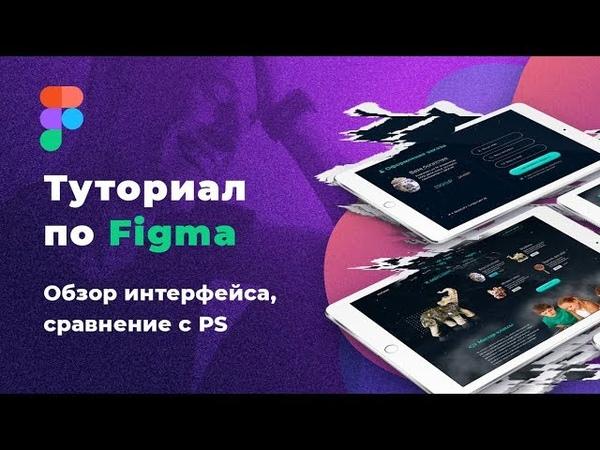 Фигма. Уроки Figma по веб-дизайну. Обзор интерфейса Figma / Саня Кво