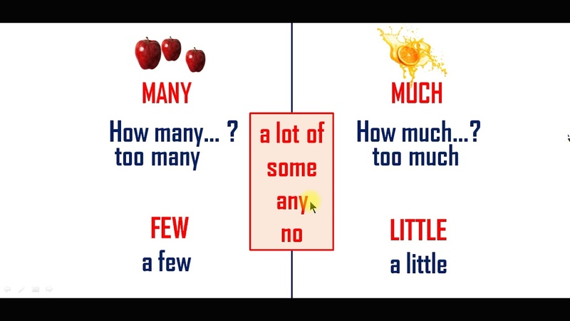 Many much few little, английский, 6 класс, УМК Starlight
