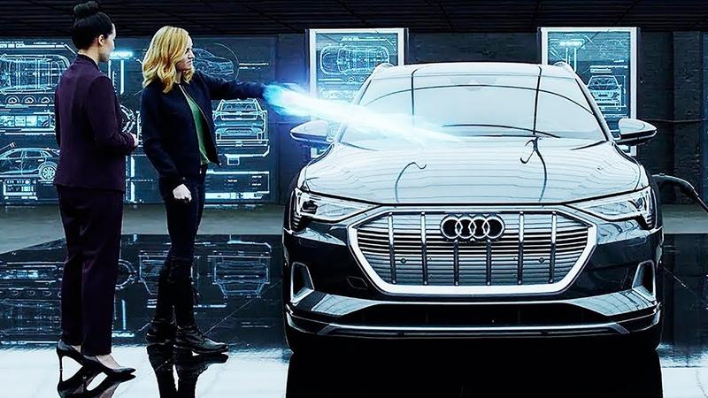 Капитан Марвел в рекламе Audi e tron и Мстителей 4 Финал