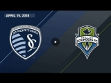 HIGHLIGHTS Sporting Kansas City vs Seattle Sounders FC April 15, 2018