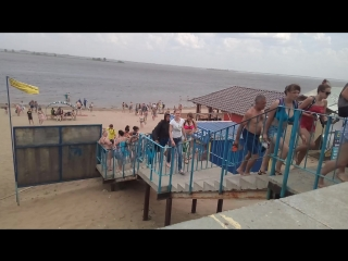штурмовой сызранский пляж