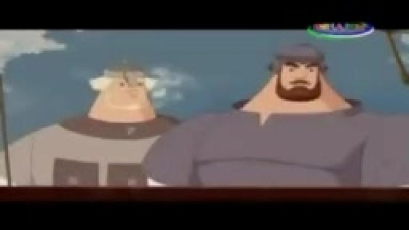 Uch bahodir va ormon jodugari uzbek tilida multfilm