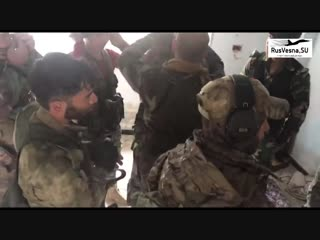 Наша ЧВК готовит сирийских ополченцев