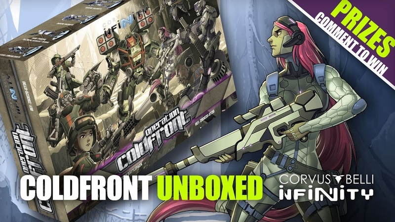 Unboxing New Infinity Battle Pack: Operation Coldfront (GENCON Bundle)