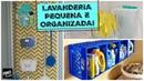 IDEIAS PARA ORGANIZAR UMA LAVANDERIA PEQUENA Organize sem Frescuras
