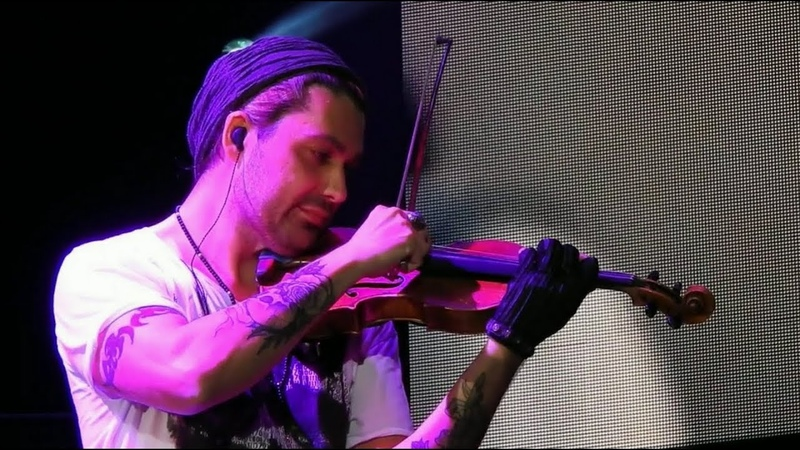 David Garrett mit seiner Band 'Bitter sweet Symphony' The Verve