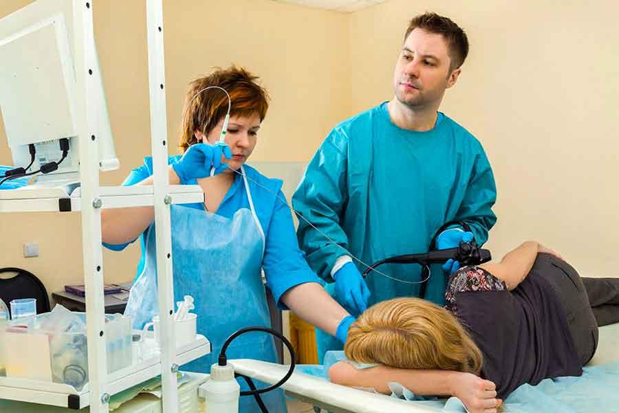Что такое типичная процедура сигмоидоскопии?
