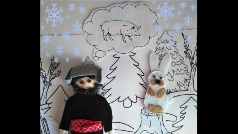 Коми-пермяцкая сказка Как Епу заяц проучил