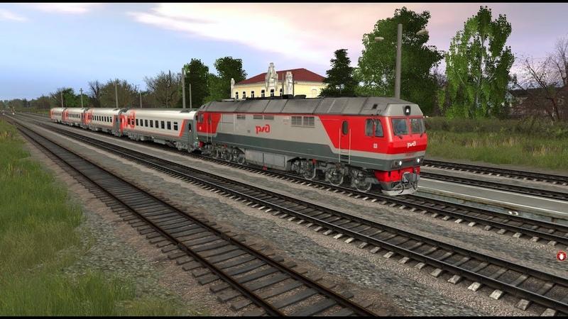 Trainz 12. Венёв - Ожерелье