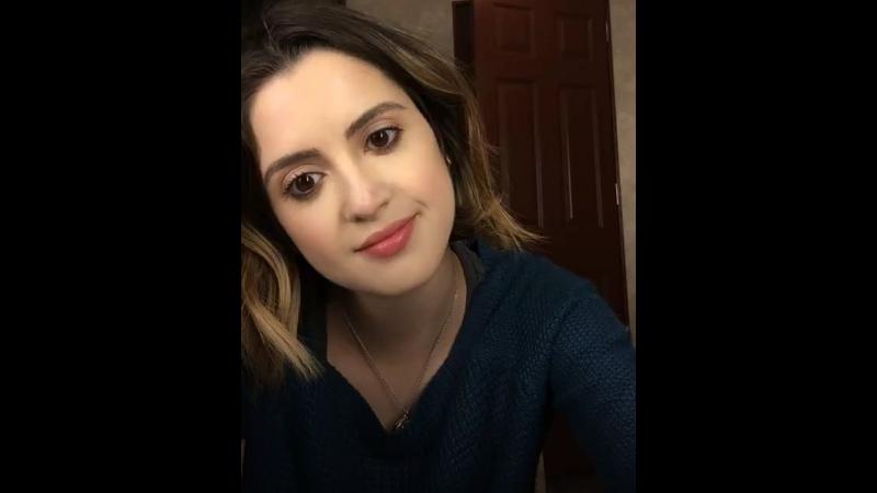 Трансляция Лоры в Instagram от 16 марта 2018