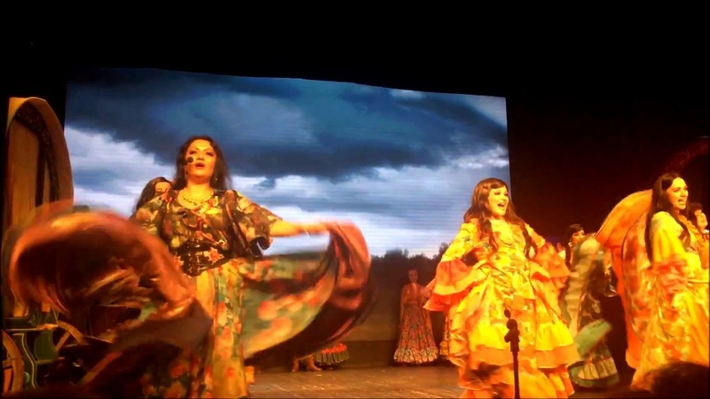 Отрывки из Мюзикла З.Станку ВОЖАК на сцене Балашовского Драматического Театра