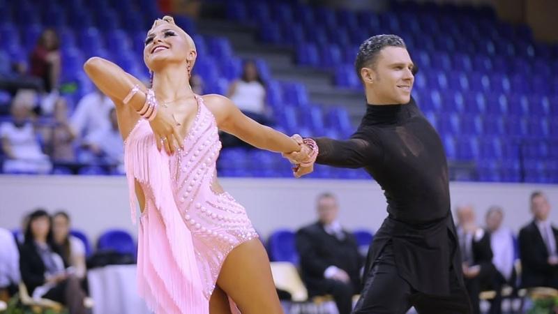Jokubas Venckus - Migle Klupsaite, LTU   2018 Paris Dance Open - WDSF WO LAT - solo R