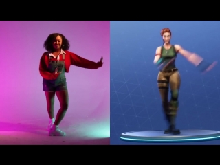 Танцули из игры Fortnite