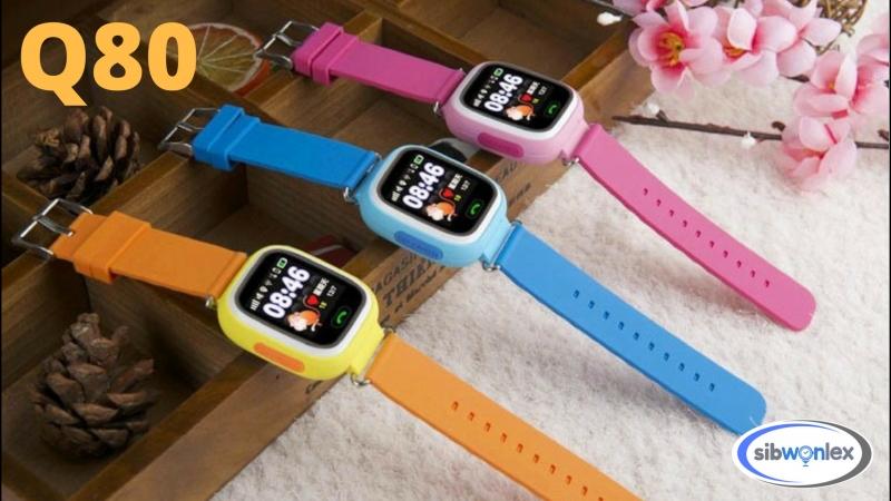 Детские Умные Часы с GPS и Wi Fi Smart Baby Watch Q80 Сенсорный экран Обзор