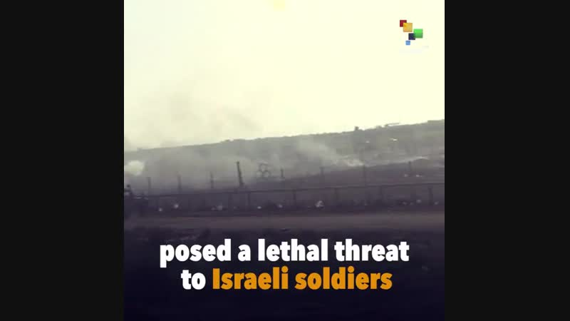 Independent investigation recognises that the protesters killed at the Gaza border were unarmed. b
