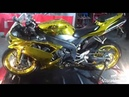 The First Gold Chrome Yamaha R1 In Singapore
