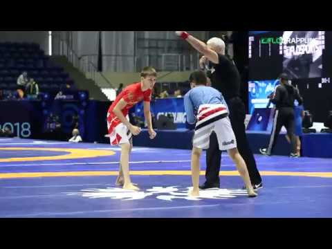 Kids Show Future of Grappling at UWW World Championships