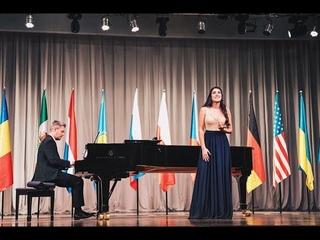 Изабелла Андриасян и Дмитрий Мячин. Русская народная песня