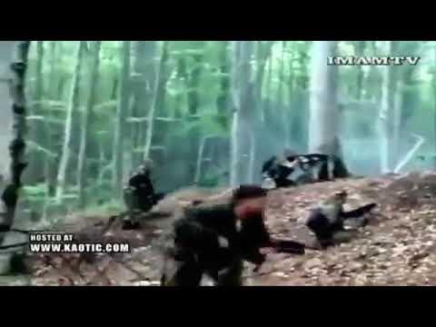 Снайпер подстрелил ваххабита в Чечне