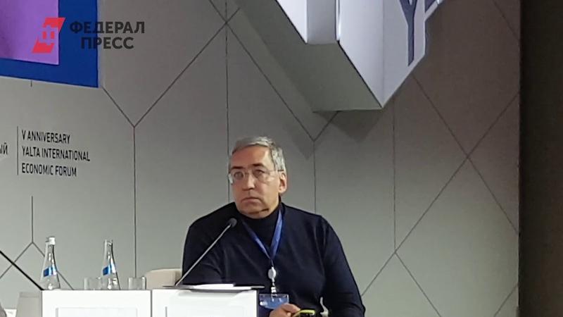 Игорь Ашманов отвечает Рамизе Маджид Низами на Ялтинском международном экономическом форуме