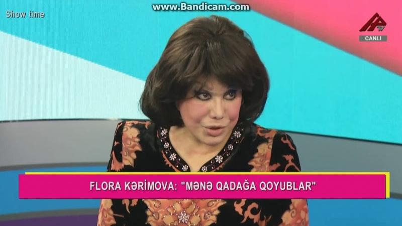 Flora Kərimova Zeynəb Xanlarovanı parodiya etdi
