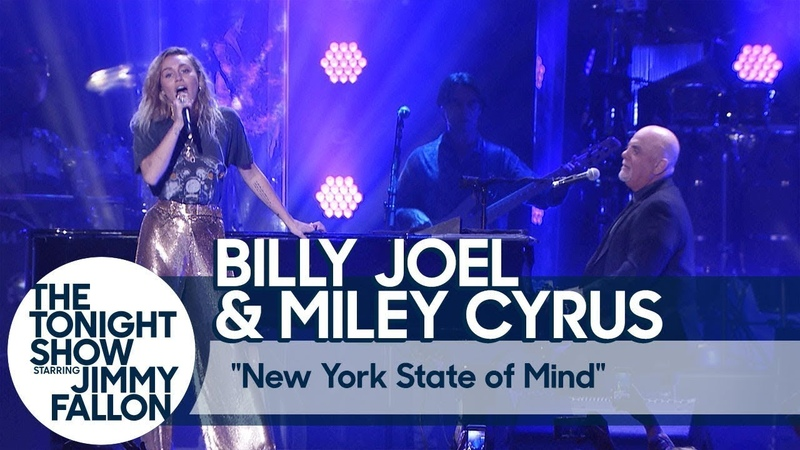 Miley Cyrus Billy Joel - New York State of Mind (Live at Madison Square Garden)