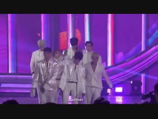 While walking back to their seats, hanbin placed the trophy into his pants lol and it almost dropped when he runs ️️️ - - but th