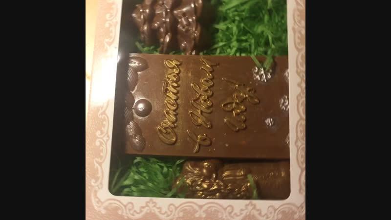 Новогодние шоколад 🍫