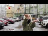 Ярославль накрыли гигантские хлопья снега