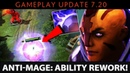Dota 2 NEW 7 20 Patch Anti Mage Ability Rework