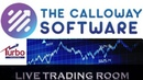 Calloway Software Short Trading Session - Don't Try To Join With VPN (Live Trading)