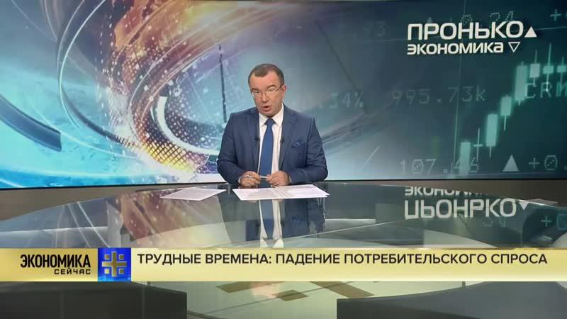 Юрий Пронько Падение потребительского спроса