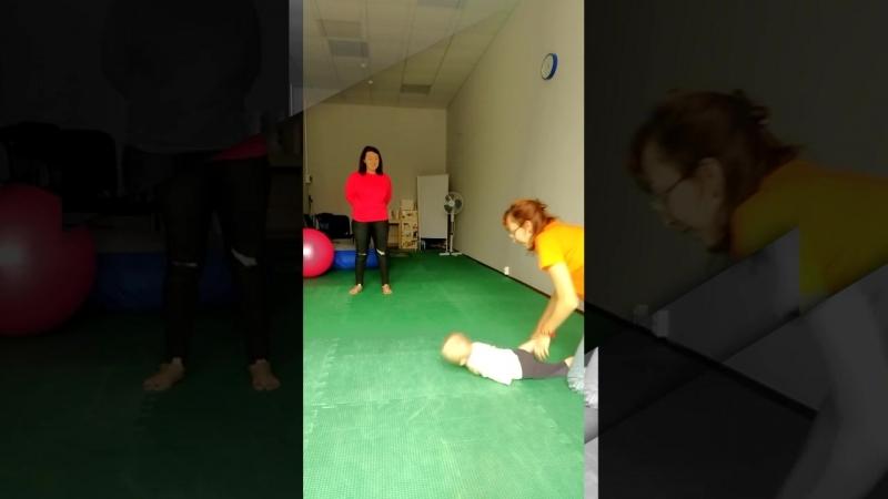 А в нашем семейном клубе помощи детям с ОВЗ начались занятия по нейрокоррекции и сенсорной интеграции для малышей (от2х лет).
