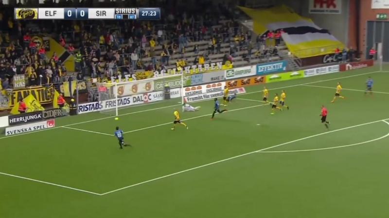 Allsvenskan 2018 : Elfsborg Borås 0-1 Sirius Uppsala