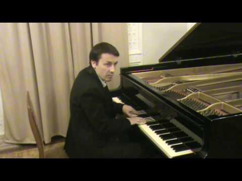 Уроки игры на пианино 13 Упражнение Шопена