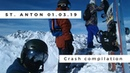 Ischgl St Anton 2019 GoFun Crew Crash Compilation