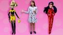 Видео для девочек - Амино Леди Баг и приключение с Акумой