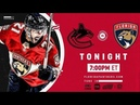 NHL 19 PS4. REGULAR SEASON 2018-2019: Vancouver CANUCKS VS Florida PANTHERS. 10.13.2018. (NBCSN) !