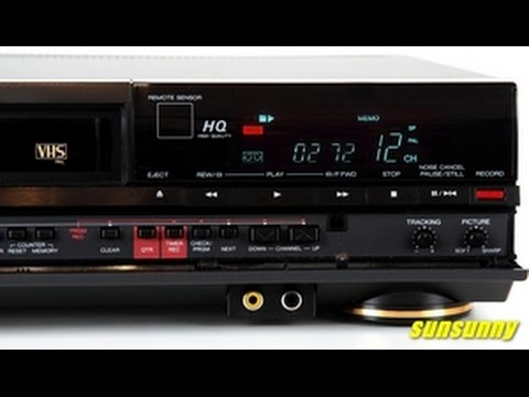 Aiwa DK510 video cassette recorder vhs